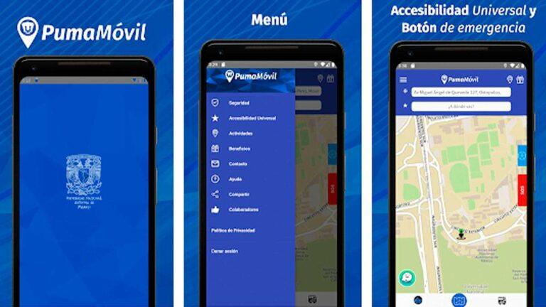 PumaMóvil, la app que ayuda a con la movilidad de CU en tiempo real