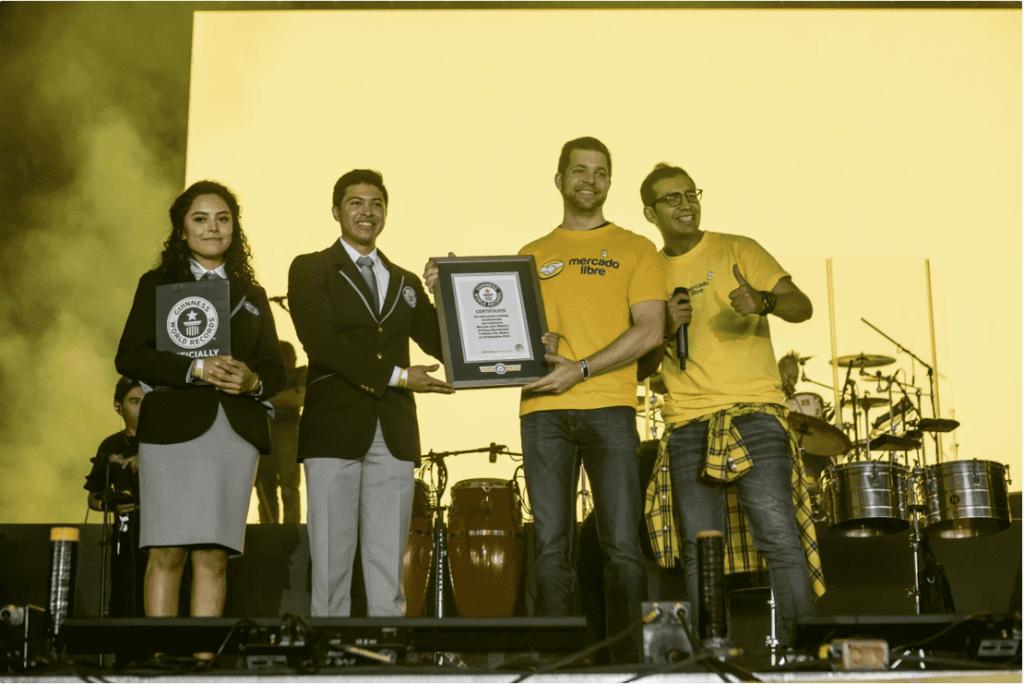 Mercado Libre record Guinness