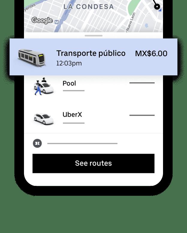UBER Transit en CDMX 1 Uber mejora experiencia con ecosistema integrado