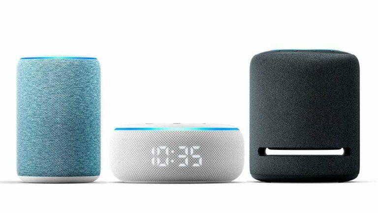 Amazon presenta nuevos dispositivos Echo Dot y funciones para Alexa.