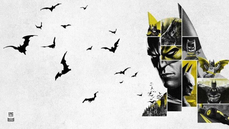 Epic Games celebra a Batman con juegos gratis