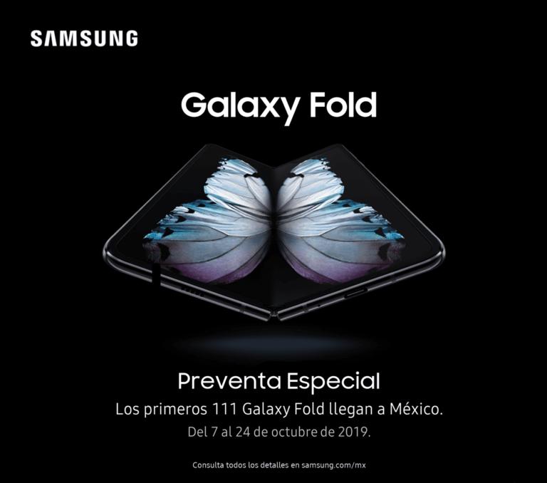 Preventa de Galaxy Fold en México limitada a 111 unidades