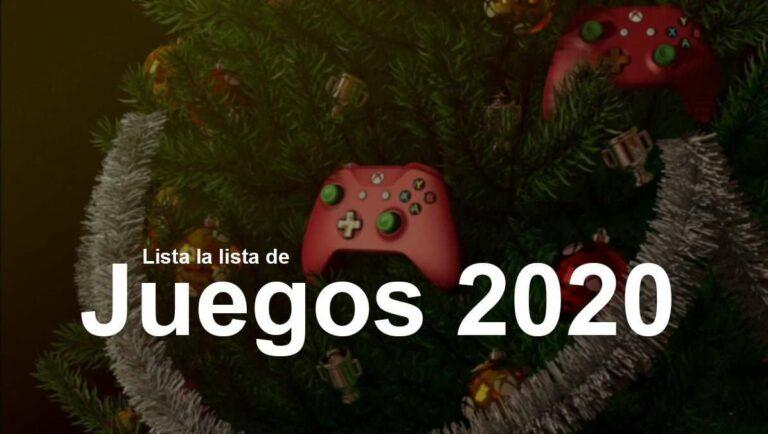 Lista la lista de juegos para el 2020