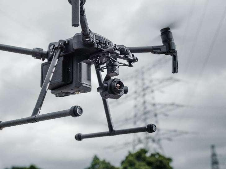 DJI lanza cámara térmica compatible con los drones de la serie DJI Matrice 200