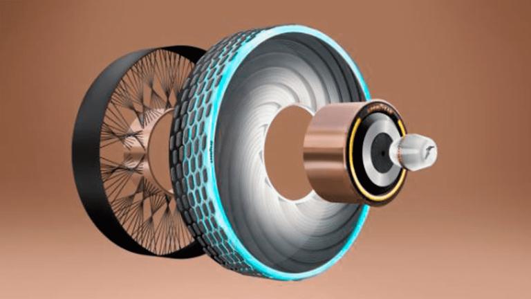 Goodyear crea neumáticos auto regenerativos con Inteligencia Artificial