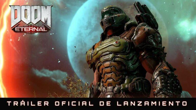 Se acerca Doom Eternal y traemos el Tráiler de lanzamiento en español latino.
