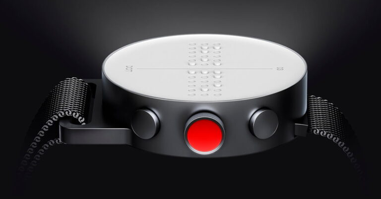 Llega reloj inteligente para personas ciegas