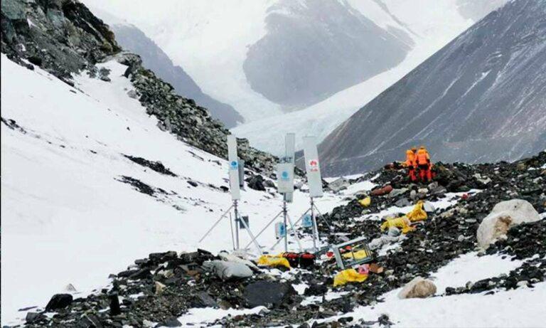 Red 5G conquista el Monte Everest