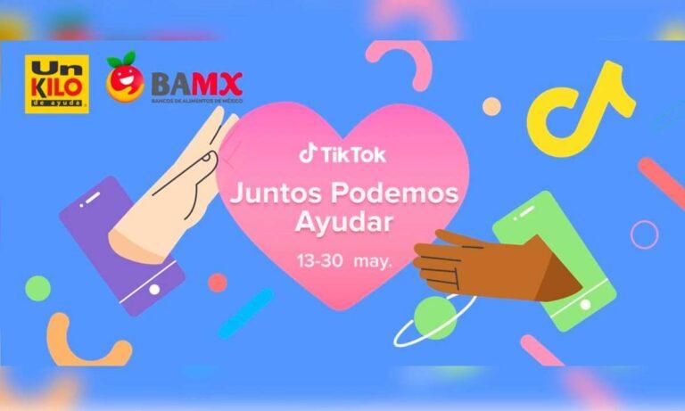 """""""Juntos podemos ayudar"""" con TikTok"""