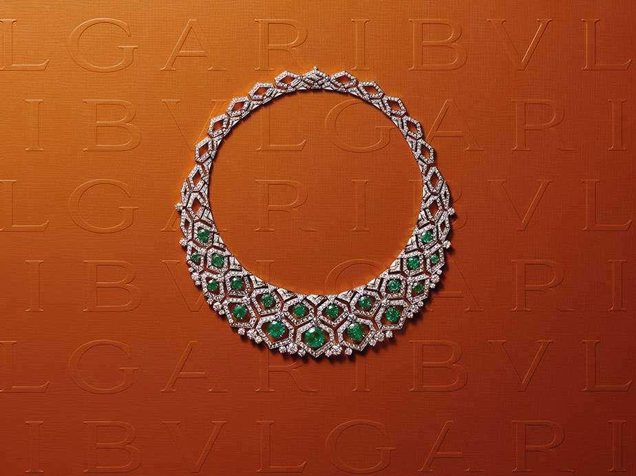 Collar Green Dream de la colección Barocko Bvlgari