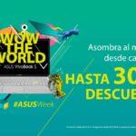 30 de descuento en regreso a claes Asus