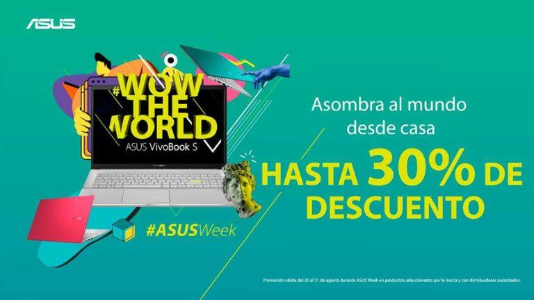 ASUS anuncia descuentos por Regreso a clases