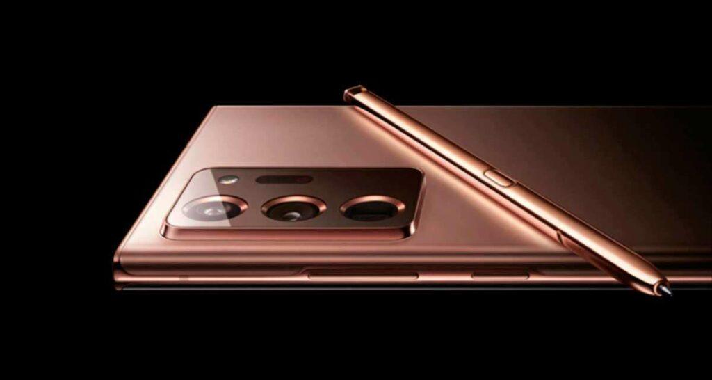 Galaxy Note 20 Ultra con S Pen