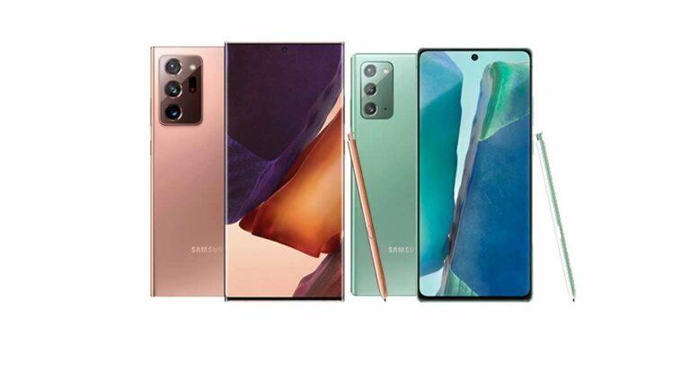 Samsung Galaxy Note 20 y Ultra, potencia y productividad: Precio y características