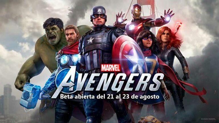 Marvel's Avengers, juega gratis el fin de semana, beta abierta