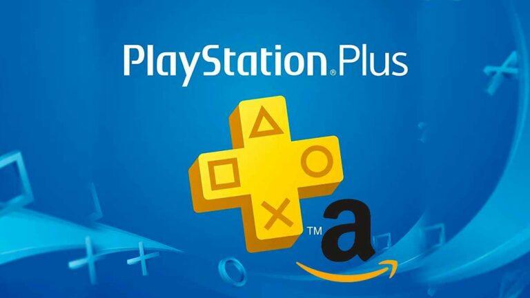 PlayStation Plus a la venta en Amazon México.