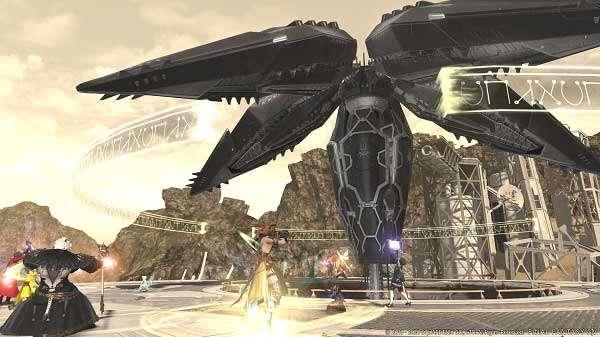 Final Fantasy XIV Online NieR YoRHa Dark Apocalypse