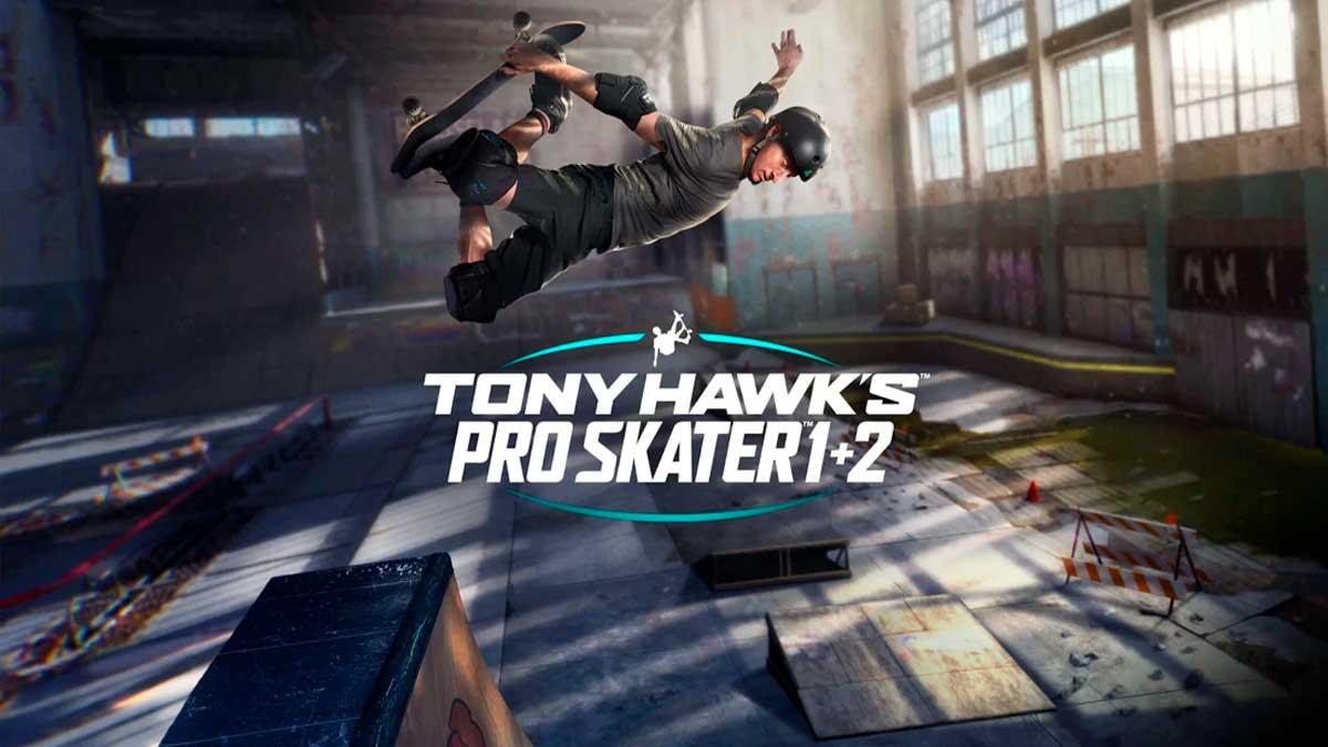 Tony Hawk's Pro Skater 1 + 2 demo Warehouse