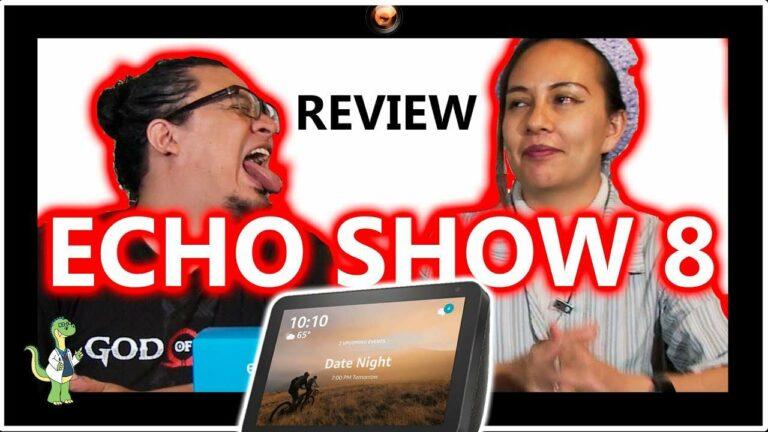 Echo Show 8 review y primeras impresiones