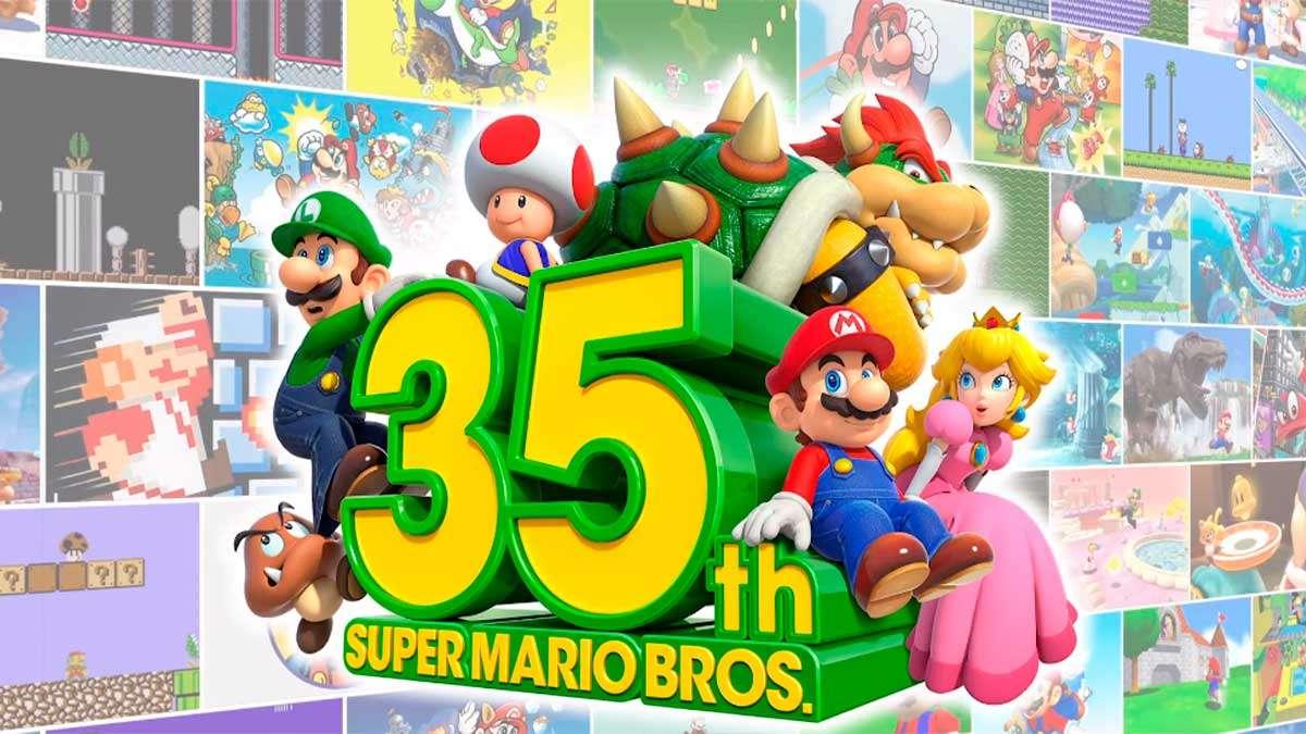 35 aniversario de Super Mario Bros