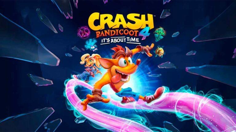 Llega a Crash Bandicoot 4: It's About Time, tráiler de lanzamiento