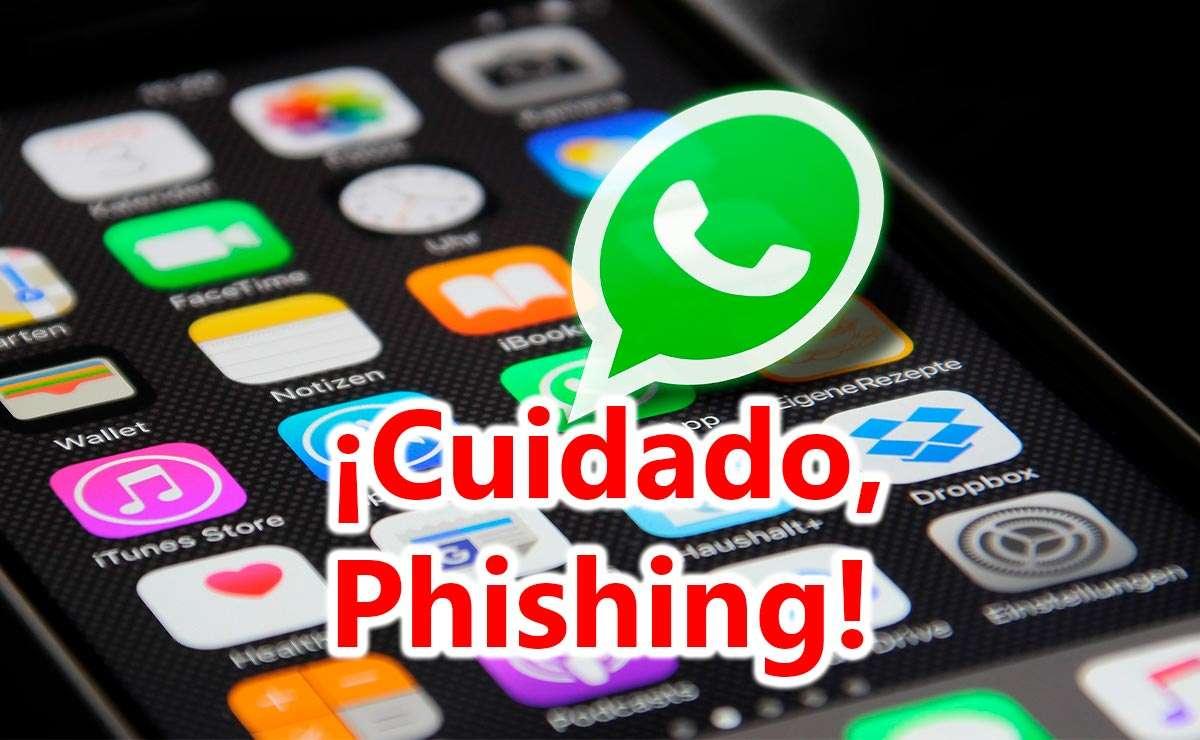 Cuidado con los ataques de Phishing en WatsApp