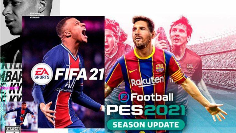 Entre pandemia, FIFA 21 y PES 21: ¿Qué tienen de mejoras?