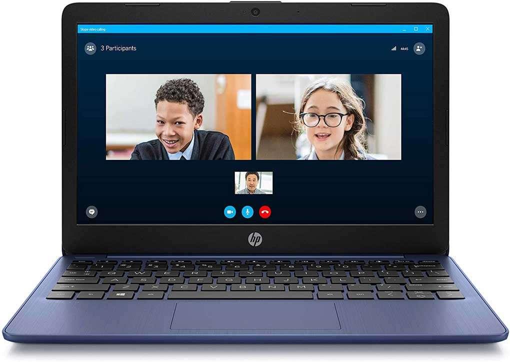 HP Stream portatil HD de 11pulgadas, perfectas para usuarios que cuidan su vista y niños