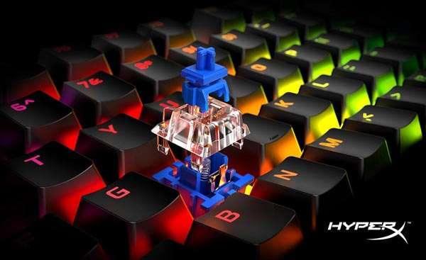 HyperX Alloy Origins Blue Switch HyperX presenta nuevos periféricos gamer y anuncia el Play Together de octubre
