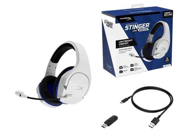 HyperX Cloud Stinger Core Wireless HyperX presenta nuevos periféricos gamer y anuncia el Play Together de octubre