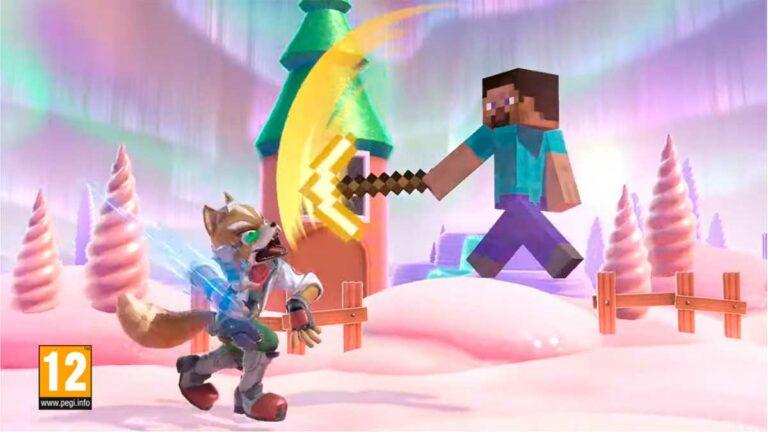 Steve de Minecraft se une a Super Smash Bros Ultimate