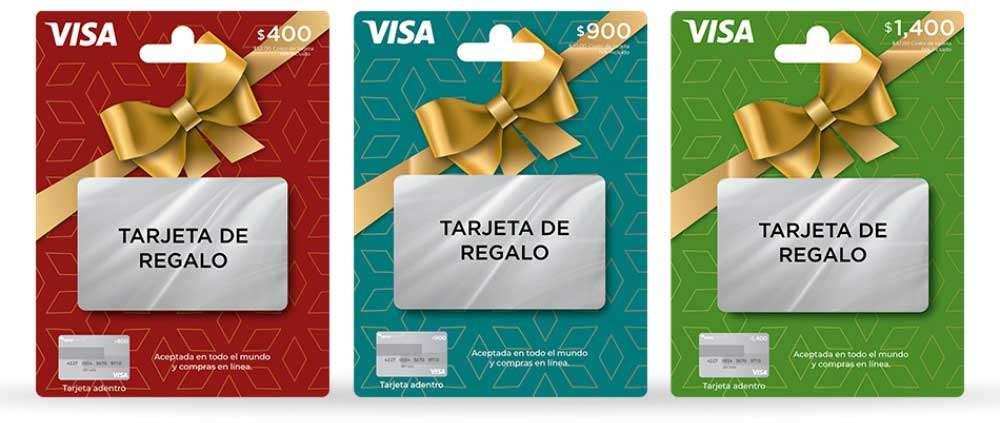 Tarjeta de regalo de VISA