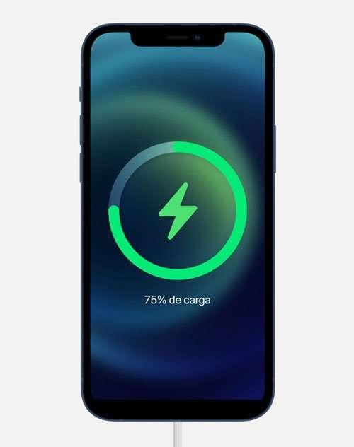 iPhone 12 características como carga rápida