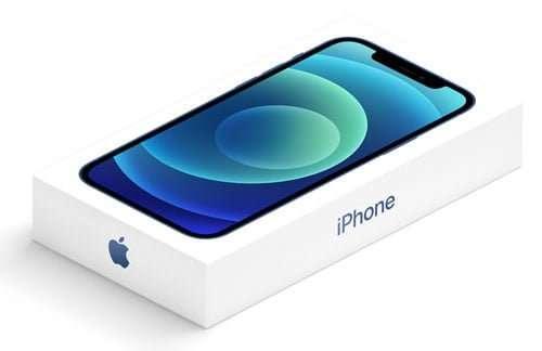 Caja del iPhone 12