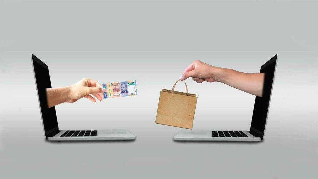 Comercio electrónico, comprar en línea sin tarjeta de crédito o débito