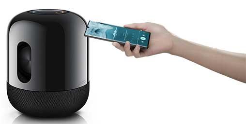 Huawei Sound X, control multidispositivo EMUI 10.1  desde un P40