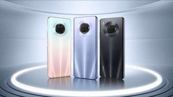 Huawei Y9a, tres colores