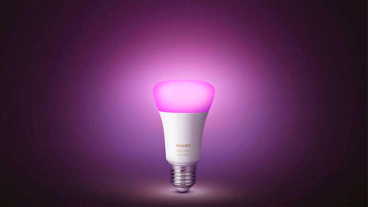 Los focos inteligentes como Philips Hue te ayudan a ahorrar electricidad y dinero