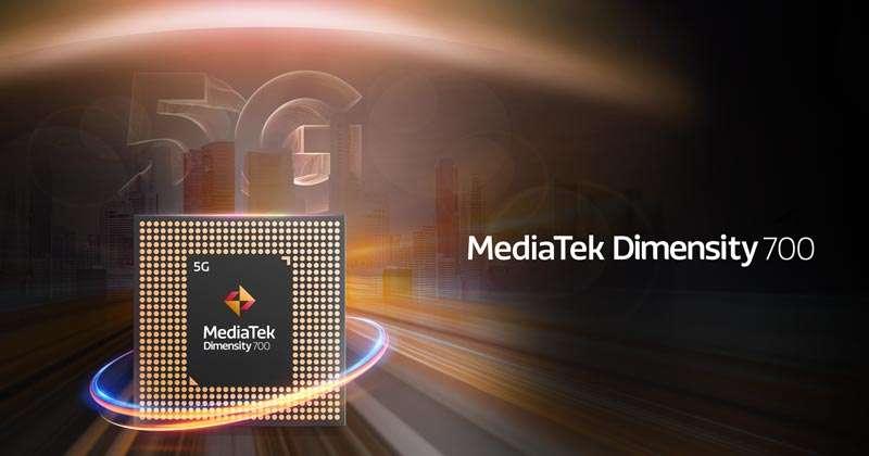MediaTek Chipset Density 700 5G