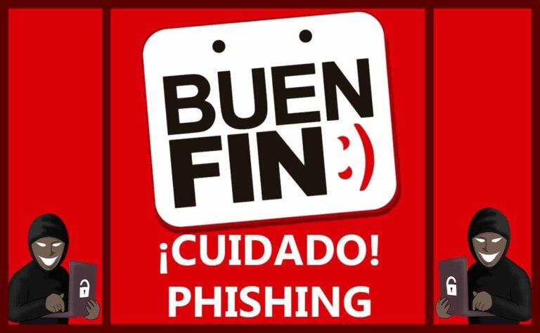 Ser víctima de phishing: uno de los peligros que aumenta durante el Buen Fin