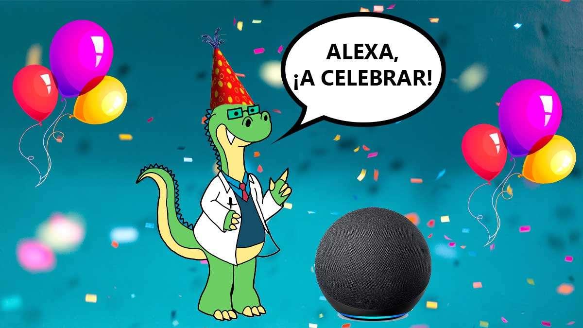 Feliz Cumpleaños Alexa (Amazon)