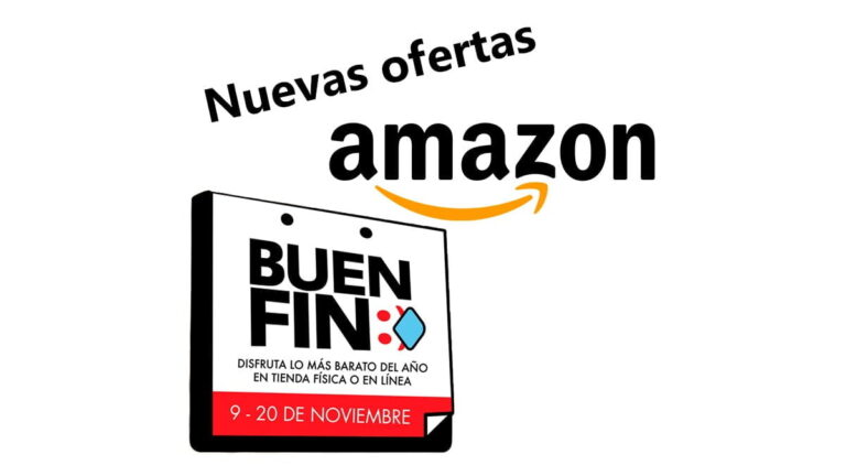 Nuevas ofertas y promociones en Amazon México por Buen Fin 2020