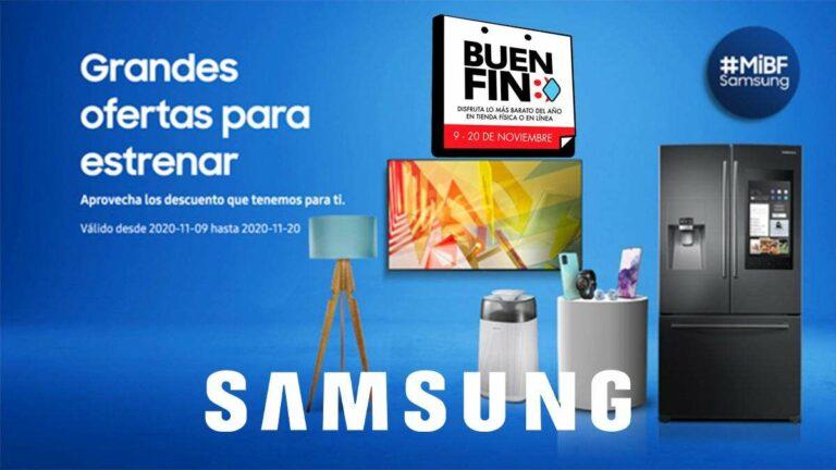 Samsung se pone guapa con descuentos en el Buen Fin 2020, 50% y 18 MSI