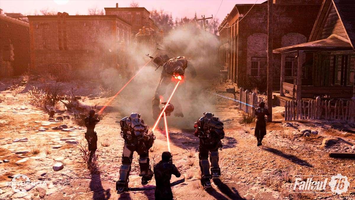 Steel Down, actualización gratuita Fallout 76