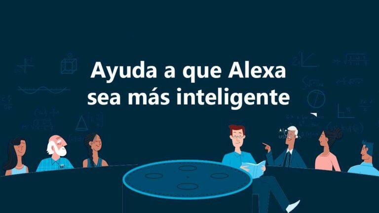 """Alexa se puede volver más inteligente gracias a ti: """"Alexa Answers llega a México"""