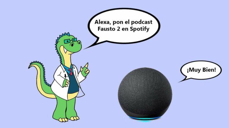 Escucha podcast de Spotify con Amazon Alexa