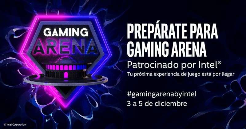Gaming Arena, patrocinado por Intel