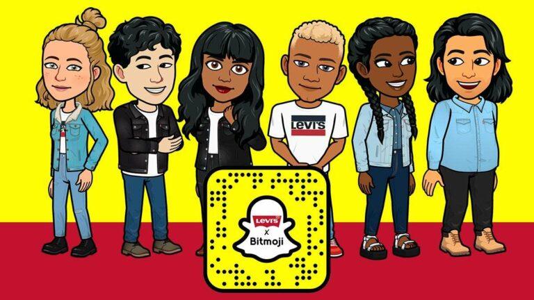 Snapchat: Viste a tu Bitmoji con la clásica colección de Levi's