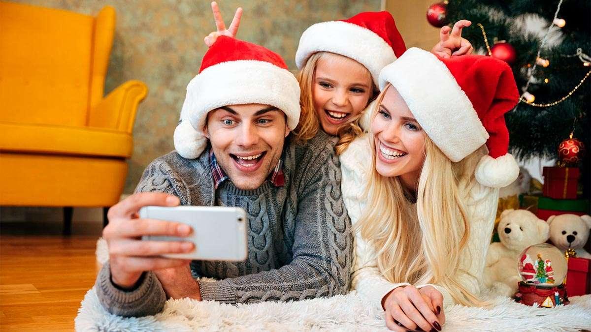 celebra la Navidad virtual, cuida a tus seres queridos