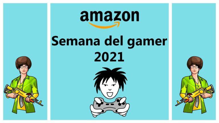Inicia la semana del gamer 2021 en Amazon México, con las mejores ofertas, promociones y descuentos